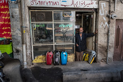 Motorcycle fuel tank shop (Nicolas Willemin) Tags: bazar city damavand hiking iran mountains mtdamavand outdoor teheran trekking flickrtravelaward