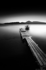 Ghost ship (Ben_Coffman) Tags: bay bencoffman bencoffmanphotography blackandwhite dock ghostship greece greekisland longexposure milo milos neutraldensityfilter water