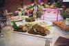 Fish & Anniversary Cake (reubenteo) Tags: northkorea dprk food lunch dinner steamboat kimjongun kimjongil kimilsung korea asia delicacies