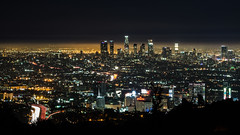Mulholland Drive View (Bomboclack) Tags: longexposure pose longue pic picture photo photography madeinfrance french franais france europe 2470 28 tamron nikon d600 ff fx fullframe pleinformat mulholanddrive la losangeles night soir nuit hollywood usa america roadtrip etatsunis skyline highway route lights lumires phares roads cityscape traffic trafic voitures cars architecture
