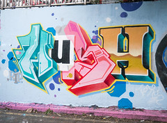 R.I.P Hush (cocabeenslinky) Tags: streetart graffiti south east waterloo leake street se1 tunnel london city capital england united kingdom uk art artist artiste graff urban photos panasonic lumix dmcg6 cocabeenslinky letters writing writers spray paint can september 2016 rip hush