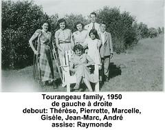 Tourangeau_group_IMG027_1950_300res (BrianPatrickByrnes) Tags: tourangeau thrse pierrette marcelle gisle jeanmarc andr raymonde
