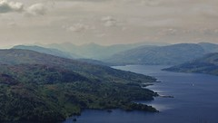 Loch Katrine 2 (brightondj - getting the most from a cheap compact) Tags: thirdwalk scotland trossachs lochkatrine view mountains arrocharalps benaan landscape