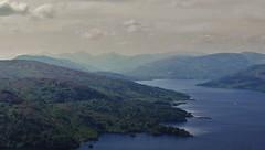 Loch Katrine 2 (brightondj - getting the most from a cheap compact) Tags: thirdwalk scotland trossachs lochkatrine view mountains arrocharalps benaan landscape