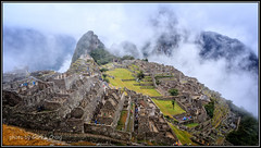 In the Rain - Machu Picchu
