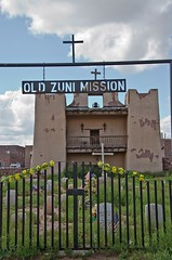 zuni mission (maryannenelson) Tags: new southwest church mexico mission zuni revervation