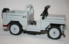 My old Jeep (SpontaneousRaptor) Tags: gun lego jeep ww2 vehicle cod callofduty brickarms brickarmsmods