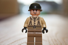 US Ground Infantry WWII (1) (zalbaar) Tags: world 2 usa infantry soldier us war lego wwii ground american ww2 decal minifig gi customs brickarms zalbaar