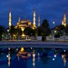 Blue Mosque reflected