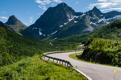 Looking back (afloden) Tags: road vacation mountain berg norway vei ferie senja fjell troms