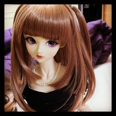 Hmm! I really like this hair style on Sumire. Perhaps I should ask @treizieme to buy one in Choco Mocha for her :D (TURBOW) Tags: square doll squareformat bjd superdollfie volks hefe sdgr f05 iphoneography instagramapp uploaded:by=instagram kaleidowig