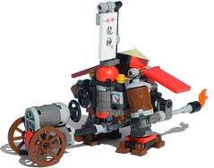 Far-Eastern Steam Walkerette Mk. LXXII (rear) (aillery) Tags: asian wa