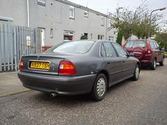 1995 Rover 620i (GoldScotland71) Tags: rover 600 1995 1990s 620i n937ssh