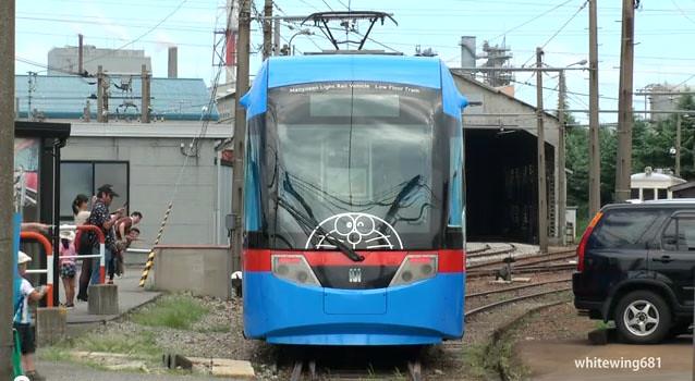 日本高岡市 哆啦A夢地面電車