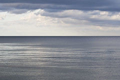 How far do you see? (Cecilia Adolfsson) Tags: ocean sea sky water clouds skne view sweden horizon sverige hav sterlen canon60mmf28usmmacro ceciliaadolfsson