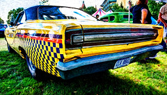 68 Road Runner HDR (hz536n/George Thomas) Tags: summer canon lab michigan plymouth september canon5d 1968 mopar upnorth hdr roadrunner 2012 frankenmuth smrgsbord photomatix autofest labcolor ef1740mmf4lusm cs5 pixelbender hz536n