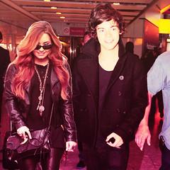 Demi and Harry. (1DJonasLovato) Tags: harry styles demi manip lovato