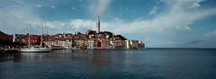 Rovinj, Croatia (ChihPing) Tags: rovinj istria   travel  blue hasselblad xpan 30mm fujifilm fujicolor iso800 press fuji film   panorama panoramic     expiredfilm