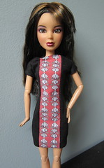 Project Project Runway Challenge #9 - It's All About Me (katbaro) Tags: doll sewing projectrunway dollclothes projectprojectrunway