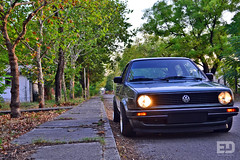 "VW Golf mk2 by Arch • <a style=""font-size:0.8em;"" href=""http://www.flickr.com/photos/54523206@N03/8005780148/"" target=""_blank"">View on Flickr</a>"
