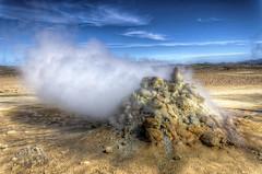 The power of nature (Fil.ippo) Tags: travel nature landscape island iceland nikon power smoke sigma natura steam puddles 1020 geothermal hdr filippo fumo sulphurous mudpots islanda solfatara fango fumarole vapore d7000 geotermale