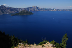 Crater Lake National Park (ipaloni) Tags: blue panorama usa lake oregon nikon d300 craterlakenationalpark nikond300