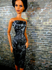 Something Fierce (the waverlys) Tags: james berry doll dress barbie bond africanamerican jinx halle aa 007 dollclothes