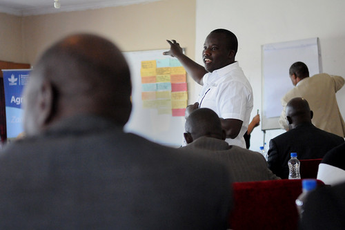AAS Barotse Hub Roll-Out workshop, Zambia. Photo by Georgina Smith, 2012.