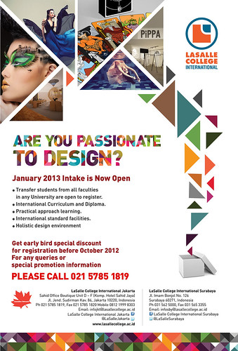 Intake LaSalle College International Jakarta January 2013