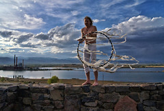 Hula hoop icon, Carl Fuermann (Clever Poet) Tags: park plant hoop colorado background hula fringe icon boulder hooping iconic spinner legion masterful valmont carliconichoop highhorsephotos