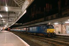 67-001-1W94-Shrewsbury-27-9-12- (D1021) Tags: night shrewsbury skip arriva class67 ariva 67001 1w94