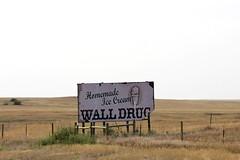 We All Scream... (the_mel) Tags: wall southdakota highway cone billboard advertisement icecream drug 90 i90 walldrug