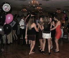 Dance Floor (sfPhotocraft) Tags: girls party kids balloons teenagers dressedup dresses 2012