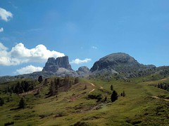 Near Cortina, Northern Italy (saxonfenken) Tags: mountains dolomites italy track path scape landscape pregamewinner gamewinner tcf 6762land 6762