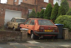 021020127888 (uk_senator) Tags: volvo rover 1981 dl 340 p6 343 dumped