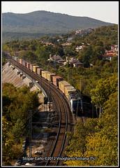 Rci 190 025 Record + Euc 42243 (Carletto470) Tags: austria siemens rail cargo va rca linea vf trieste rci obb villach tbv tarvisio euc rfi boscoverde taurus3