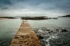 Oilen Na Cruite 2 (soilse) Tags: ocean morning ireland sea sky seascape tourism beach water grass golf island islands pier sand marine rocks waves seascapes horizon earlymorning peaceful tranquility spray atlantic pools maritime foam rails geology thesea seashore tranquil donegal darkclouds cloudysky rockformations beachgrass downbytheseaside geological bluesea theatlanticocean onthepier marramgrass arranmore rockyshore theatlantic mutedcolours ruralireland cruitisland concretestructure anghaeltacht burtonport pentaxk10d kincasslagh shallowwaters dnnangall irinn lappingwaves trchonaill therosses rainnmhr tonnta westdonegal ruraldonegal cidh narossa oilennacruite itsdifferentuphere cruitislandgolfcourse
