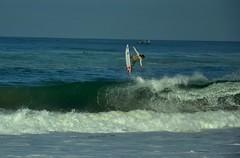 Jump !!!! (AngieLifeArt) Tags: ocean sea mer beach eau surf surfer wave hossegor vague plage 2012 quiksilver ocan wct surfeur lagravire quiksilverpro2012