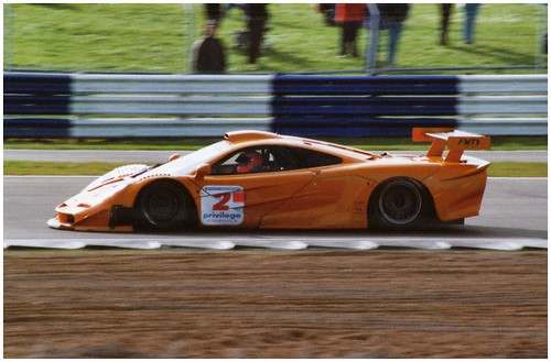 chris goodwin / james munroe. am racing mclaren f1 gtr. british gt
