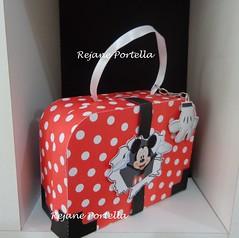 Maletinha Mickey (Reca Portella) Tags: aniversario cool mickey linda criana festa mala maletinha