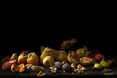 Still Life - Autumn Fruits (Mario Vani) Tags: x passionphotography abigfave colorphotoaward impressedbeauty flickrdiamond natureselegantshots bestcapturesaoi flickrsportal ringexcellence