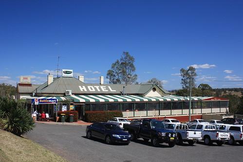 Durham Hotel, Wingen, NSW.