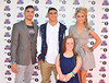 Louis Smith, Adam Gemeli, Ellie Simmonds and Laura Trott BBC Radio 1's Teen Awards 2012