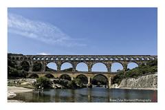 Pont du Gard (alamond) Tags: bridge france monument architecture canon river ancient roman arc 7d l usm provence nimes pontdugard ef f4 1740 mkii markii brane llens aquduct alamond zalar