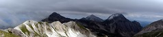 Panorama of Pizzo Cefalone, Monte Corvo and Pizzo d'Intermesoli (markhorrell) Tags: italy walking abruzzo gransasso apennines pizzocefalone