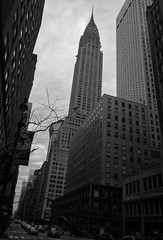 Chrysler (Beau Finley) Tags: beaufinley newyork nyc chryslerbuilding chrysler famous architecture building skyscraper downtown ny manhattan lookup ricoh newyorkcity borough bw monochrome blackandwhite outdoor