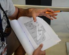 Map Strategizing (Allison Mickel) Tags: nikon d7000 adobe lightroom edited turkey tourguide teaching explaining map gallipoli battle worldwari wwi pen hand history