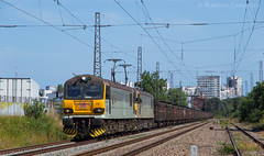 Daily service (Radler.z) Tags: 92034 92025 92 034 025 30560 freight train locomotive railways bulgaria burgas pirdop db schenker rail cargo copper