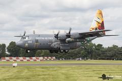 Lockheed Martin C-130E Hercules (Steve Tron) Tags: riat royalinternationalairtattoo aircraft lockheed martin c130e hercules