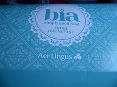 Full Irish Breakfast box (seikinsou) Tags: ireland westmeath summer aerlingus flight windowseat fullirishbreakfast irishbreakfast clodaghmckenna bia breakfast food